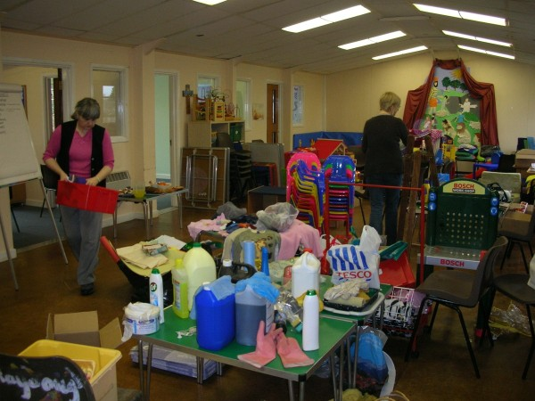 DBC Spring Clean - Plenty of cleaning materials!