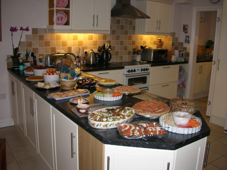 Starters & Puds - A welcoming spread