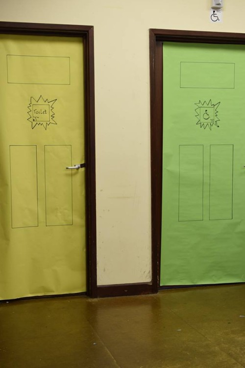 Holiday Club 2016 - Decorated doors