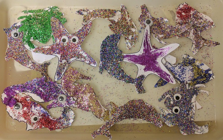 Holiday Club 2017 - Blingy maritime creatures