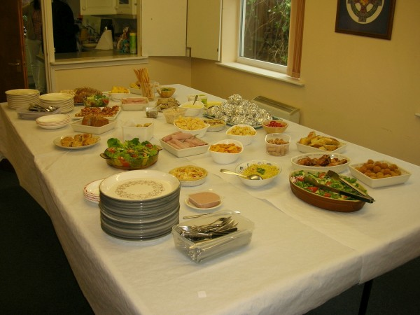 Bring & Share Lunch at DBC
